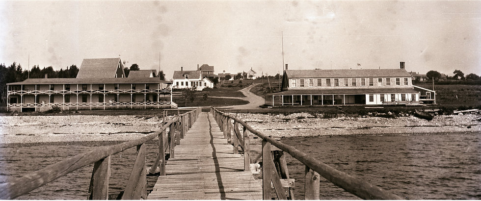 Crescent Beach Inn Early 1900s - digital file