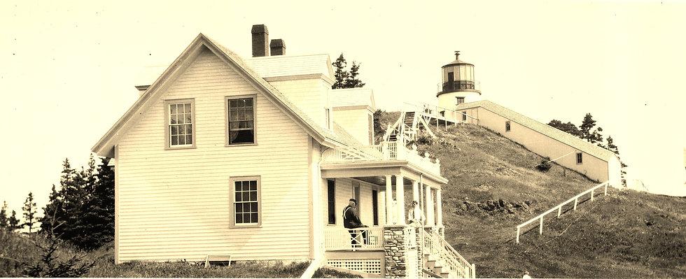 Owls Head Lighthouse Early 1900s