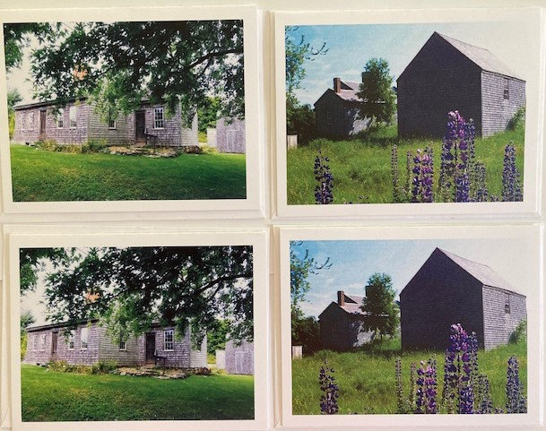 Four Old Homestead Notecards