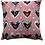 Thumbnail: pink hearts collage pillow