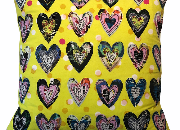 Chartreuse hearts