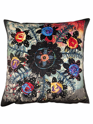 floral garland print