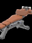 Decline Adjustable Bench LUXURY