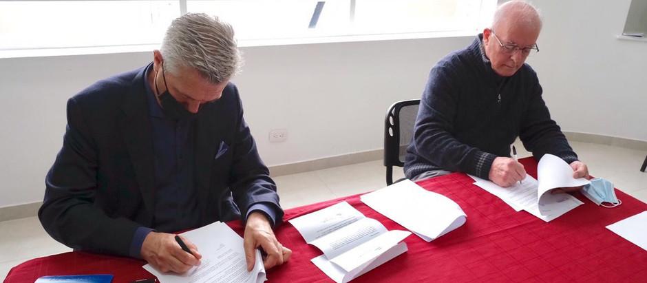 SIMN y ACNUR firman acuerdo de colaboración para atender a refugiados.