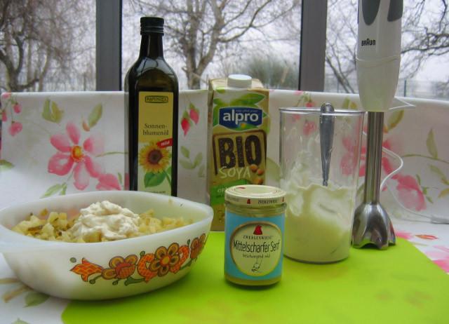 vegane Mayonnaise herstellen