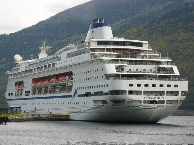 Kreuzfahrt nach Norwegen  25. 9. bis 2.10. 2017  von Tilbury (London) nach Norwegen. Das Schiff ist
