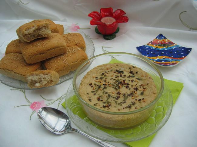 Ofenkäse aus Cashewkernen, vegan und glutenfrei