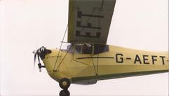 G-AEFT in flight