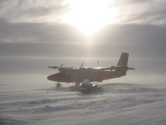 Twin Otter in Antarctica Feb 2003