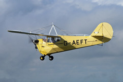 G-AEFT in Flight