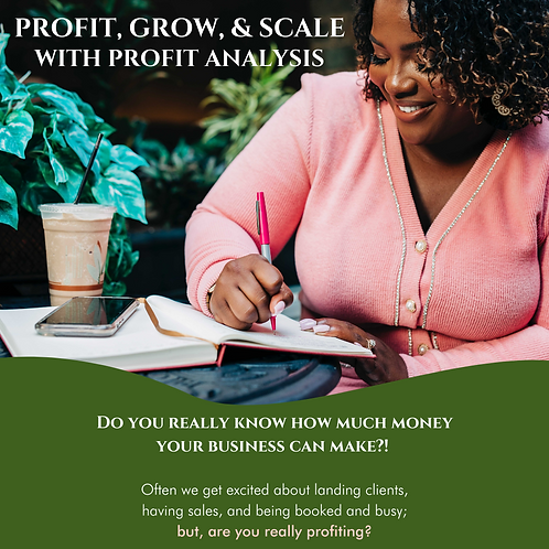 Profit, Grow, & Scale with Profit Analysis Masterclass (Replay)