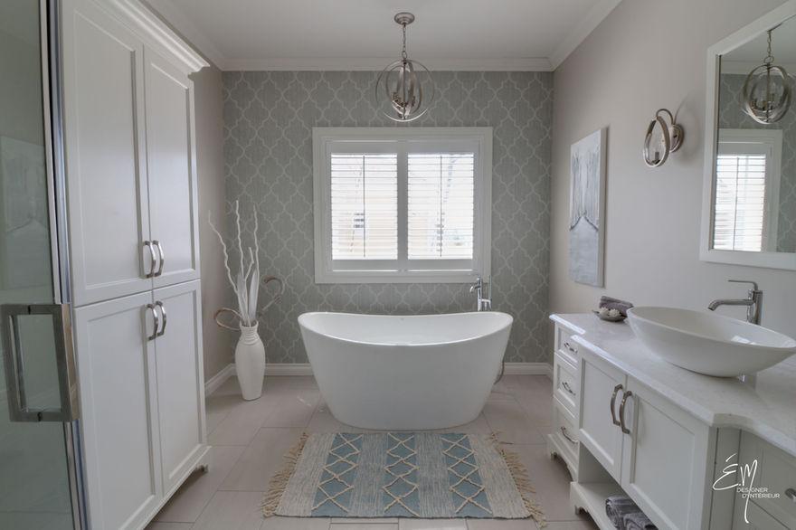 Salle de bain classique chic