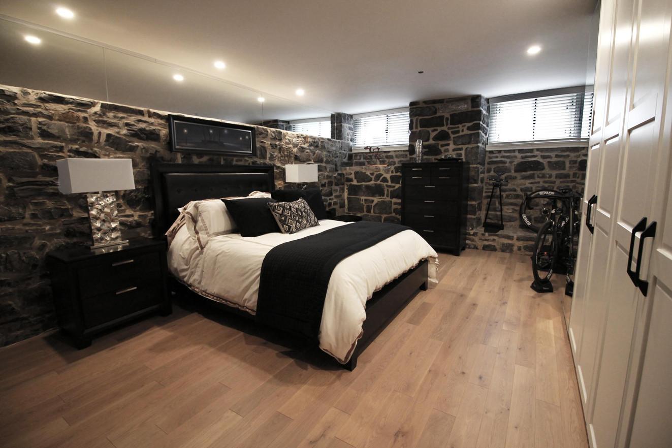 Chambre sous-sol
