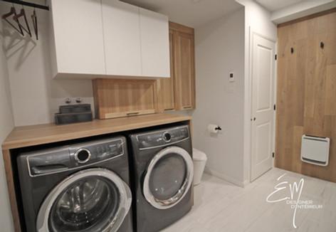 Petite espace de lavage fontionnel