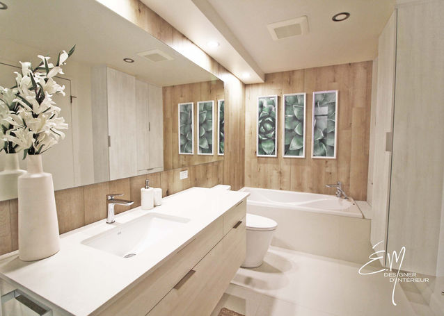 Salle de bain sans fenêtre