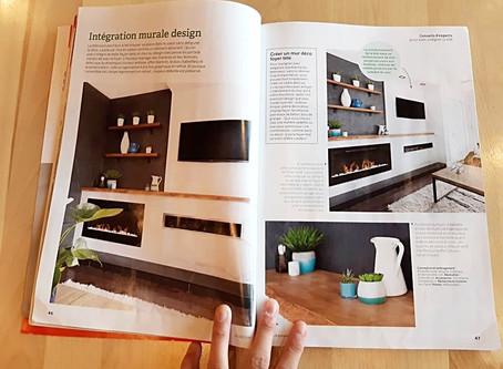 Une de mes créations dans un magazine!