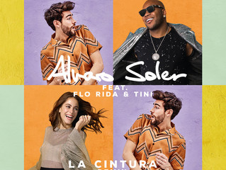 Alvaro releases La Cintura - Remix feat. Flo Rida and Tini Stoessel, out on ITunes, Spotify and Yout