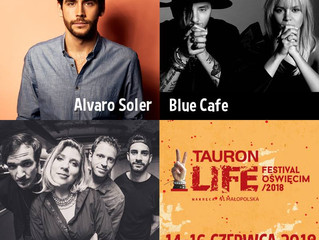 Alvaro will perform at the Tauron Life Festival Oswiecim in Oswiecim (Poland) on the 15th of June!