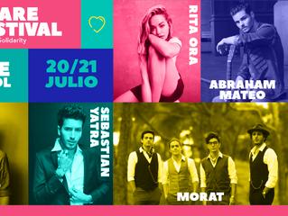 ¡No te pierdas a Alvaro en concierto en el Share Festival en Barcelona el viernes 20 de julio!
