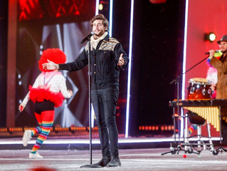 Alvaro delivered a performance of great quality at the Polish New Year's Eve concert Sylwester M