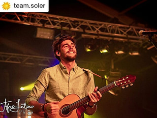 Alvaro was the most admired artist at the Belgian Afro-Latino Festival 2018 in Bree (Friday 13th of