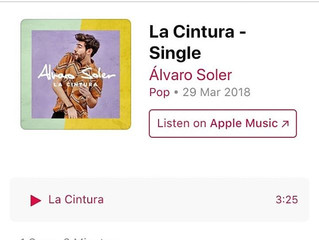Alvaro's new single La Cintura is out now! Go and listen to it on Spotify, download it on ITunes