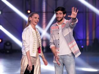Alvaro performed his hit La Cintura on the Spanish TV show Fama a Bailar in Madrid (April 18)