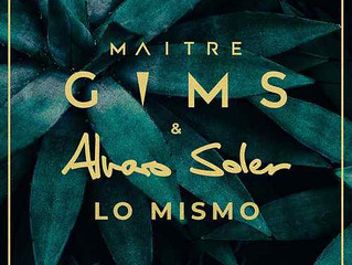 Alvaro's new single Lo Mismo in collaboration with Maître Gims is out since today!