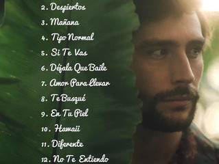 The official track list of Alvaro's new album Magia is out now!