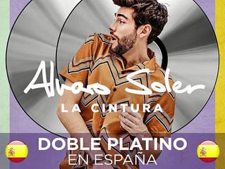 Alvaro's hit La Cintura is also Double Platinum in Spain now!