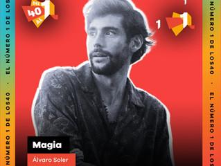 Alvaro's single Magia is number one on the Spanish radio