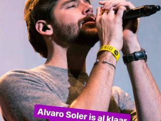 "Alvaro was without doubt the best artist performing at the Belgian awards gala ""Gala van de Gou"
