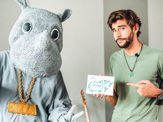 Alvaro interviewed on Hallo DIKKA