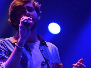 Álvaro entregó su primer concierto en México el pasado domingo (01/12) en El Plaza Condesa en la Ciu