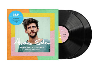 Alvaro brings out his new album Mar de Colores Extended Edition 2019 next Friday (May 10)! This new