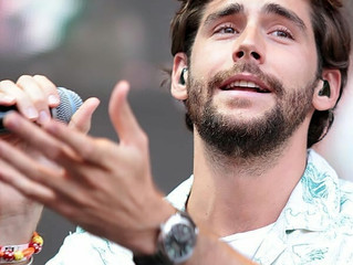 Alvaro gave a fantastic free performance yesterday at Stars for Free (104.6 RTL) in Berlin