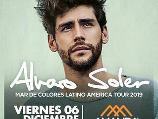 ¡Alvaro viene en concierto a Santiago de Chile el viernes 06/12 con su gira Mar de Colores! No esper