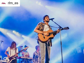 Alvaro gives a free concert in Sagüés, Donostia-San Sebastian (15/08)