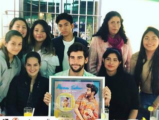Alvaro's top hit La Cintura is now Gold in Mexico!