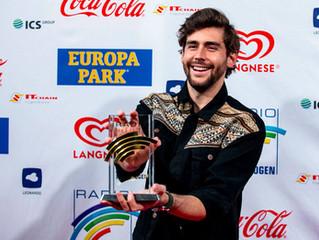 Last night Alvaro won the award 'Summer Hit 2018' with La Cintura at the Radio Regenbogen Aw