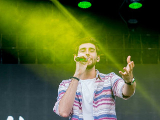 Alvaro started his festival tour last Friday (15/06) at the Tauron Life Festival in Oswiecim (Poland