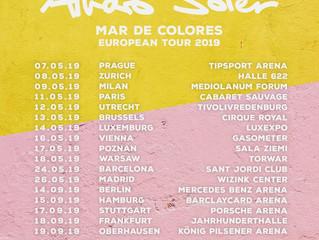 Don't miss Alvaro's Mar de Colores European Tour 2019! Get your tickets here