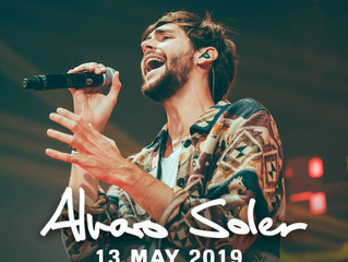 Alvaro's concert in Belgium is almost sold out! Hurry to get one of the last 150 tickets!