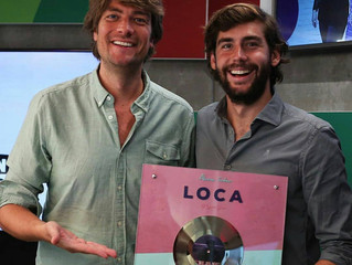 Alvaro's hit Loca has become Gold in the Netherlands! Alvaro received this Gold Record when he w