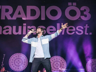 Alvaro delivered a great concert last night at the free open-air festival Donauinselfest in Vienna.
