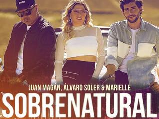 Today Alvaro brings out his new single 'Sobrenatural' with Juan Magan and Marielle