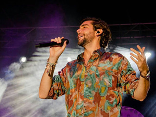 This week Alvaro gave dozens of thousands of people an unforgettable night during his three fantasti