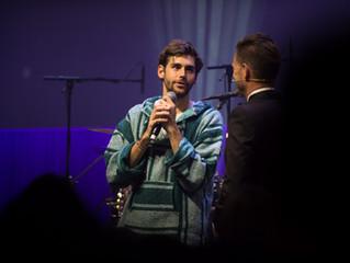Photos of Alvaro's concert at the Nacht des Ostschweizer Fussbals in St Gallen (28/10/2017)