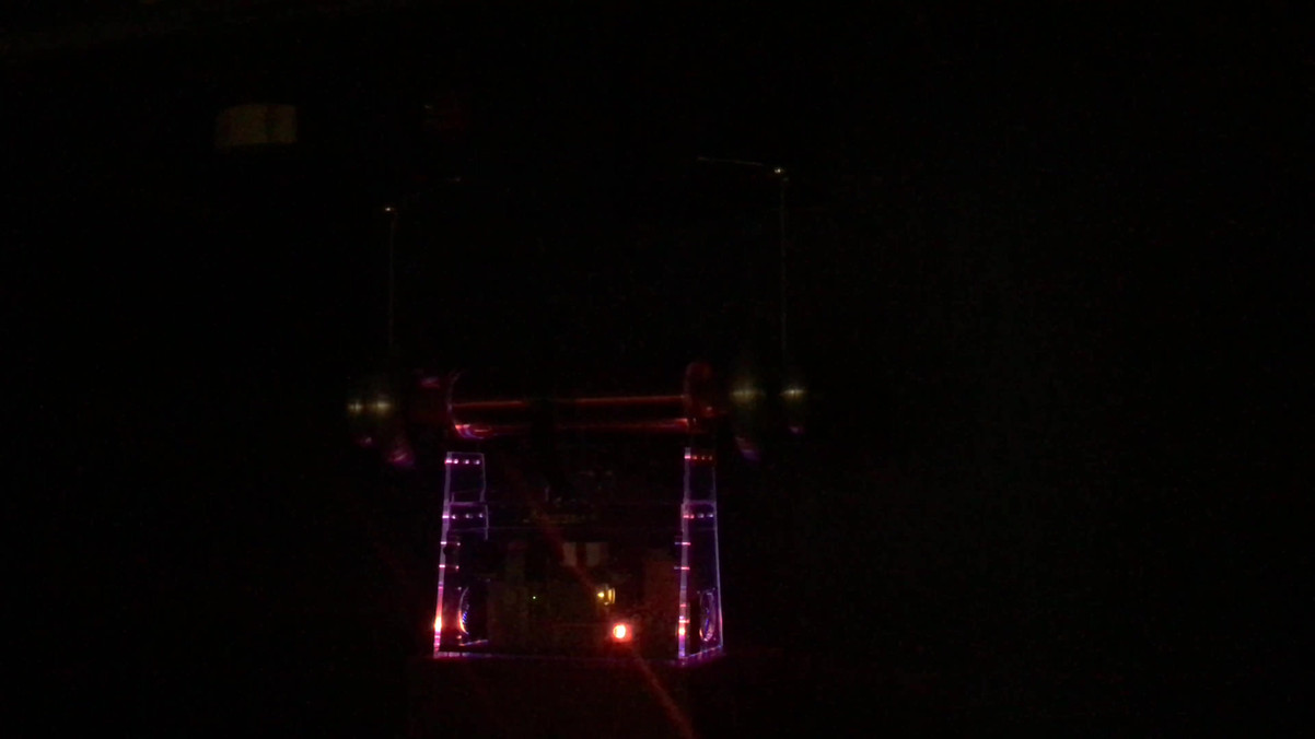 Tesla Coil in Zap Theatre