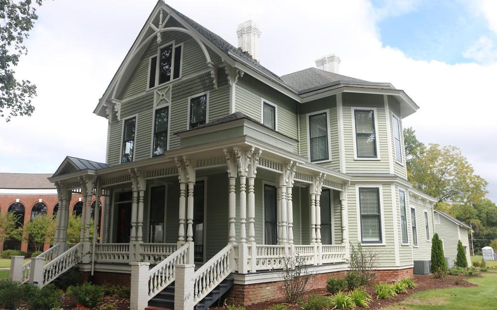 The historic rehabilitation cost $432,000 and is fully occupied with City of Wilson administrative offices.